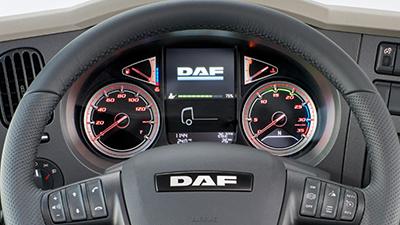 Новият DAF LF Интериор