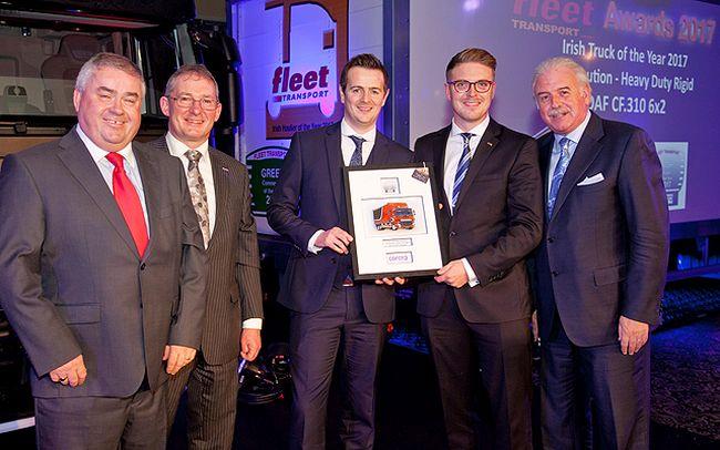 DAF CF е Камион на годината в Ирландия