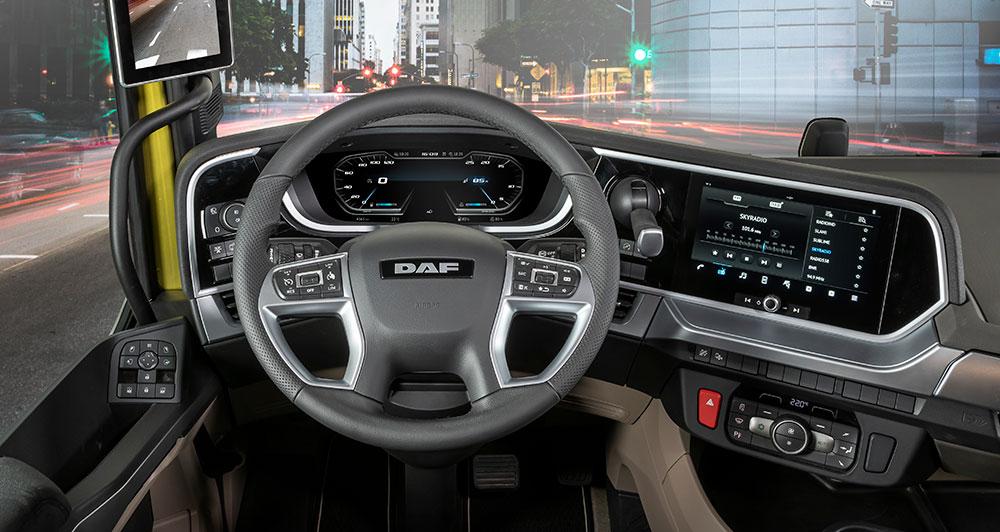 Ново поколение DAF камиони - XF - интериор - Start the Future